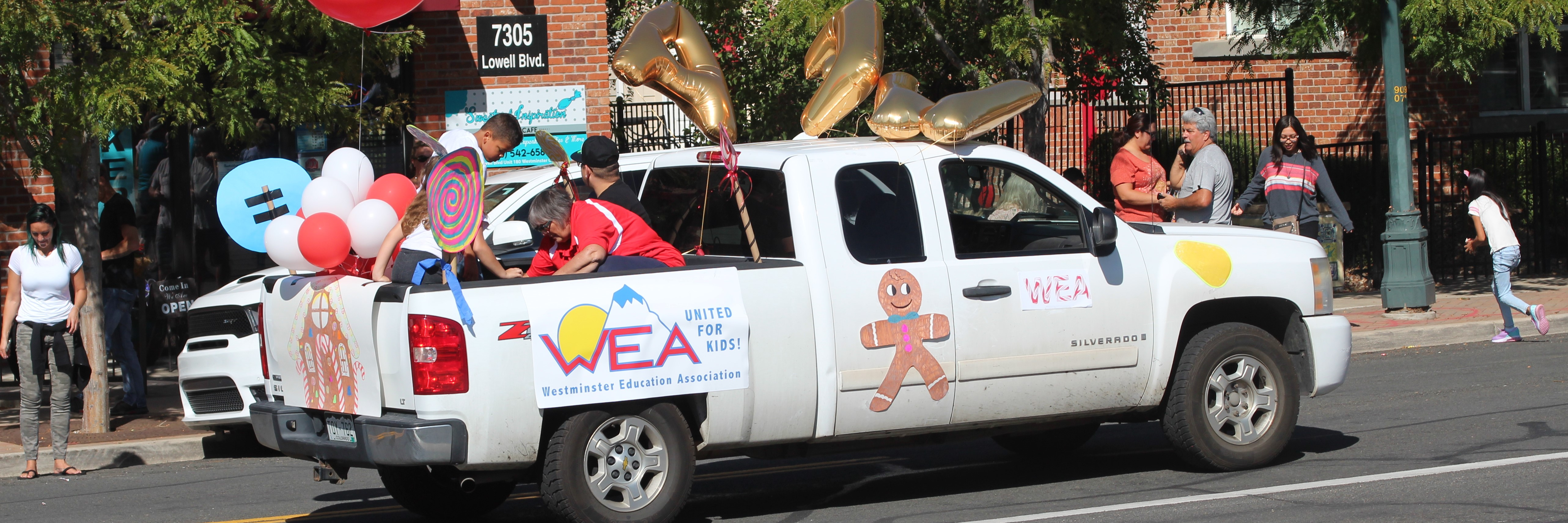 WEA join Westminster High School Homecoming Parade